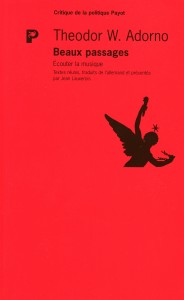 Adorno - Beaux passages
