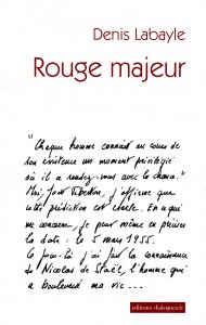 Labayle - Rouge majeur