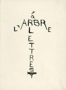 Larronde (Olivier) - L'arbre à lettres