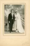1920 04 07 Meurthe-et-Moselle Nancy rue St-Fiacre mrg Maurice & Henriette.jpg